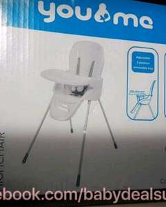 baby high chair - £9 (was £25) instore @ Morrisons (Stoke)
