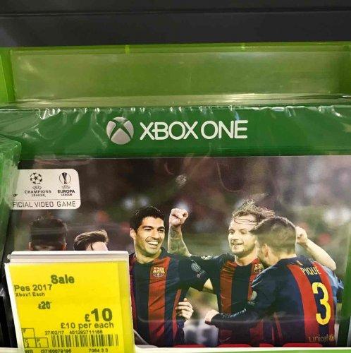Pro Evolution Soccer 2017 (XBO) £10 @ Asda Wakefield (in-store)