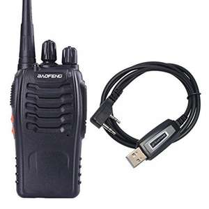 BaoFeng BF-888S Two Way Radio + Genuine Zastone USB Programming Cable £12.74 Sold by Meisort and Fulfilled by Amazon (£16.73 non-Prime)
