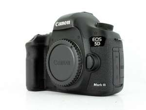 Canon 5d III - £1199.00 Second hand with fairly low shutter count at MPB