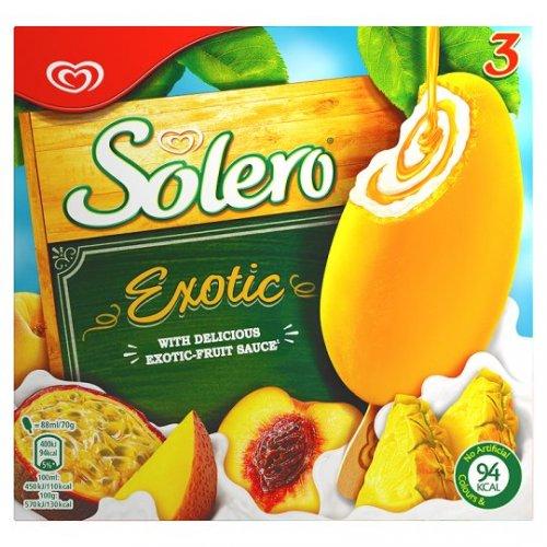 3 Pack Solero @ Sainsburys Local - 10p instore