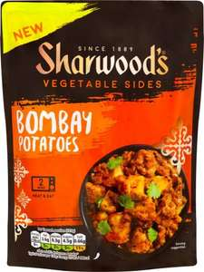 Sharwood's Vegetable Sides Bombay Potato (250g) was £1.80 now only £1.00 @ Sainsbury's
