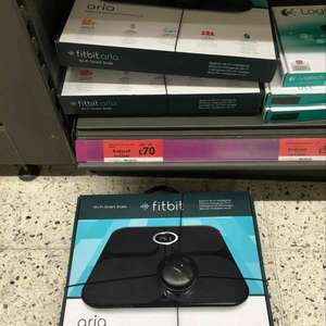 Fitbit Aria Smart WiFi Scales £70 (Sainsbury's)