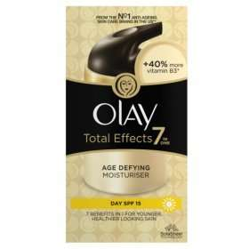 Olay Total Effects 7in1 Anti-Ageing SPF15 Moisturising Cream 50ml In Store Or Online £6 @ Asda (Other Varieties Of Total Effects Available @ £6 - Amazon Prime Price-Matching)