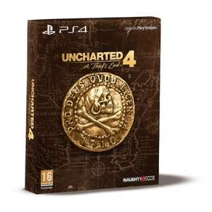 [PS4] Uncharted 4: A Thief's End Special Edition - £20.00 - Smyths (Now available for home delivery)