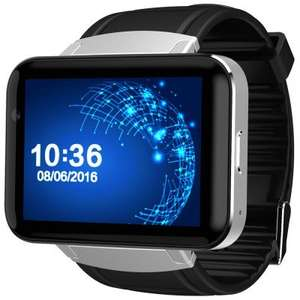 DM98 full Android widescreen smart watch with built in phone sim slot - Flash Sale - £64.13 @ GearBest