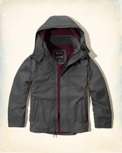 Hollister All-Weather Fleece Lined Jacket - £15.99 + £5 p&p