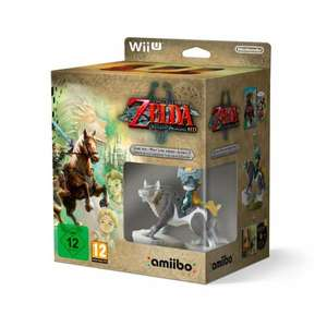 Zelda Twilight Princess HD Wii U w/ Wolf Link amiibo instore at Smyths for £15