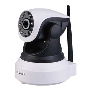 Wireless IP Camera, Sricam 720p Wi-Fi IP CCTV Camera Webcam Mini Baby Pet Monitor Home Security Camera = £25.49 Sold by KoCo-Go-UK and Fulfilled by Amazon.