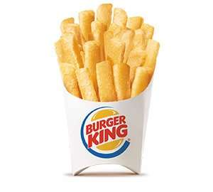 Burger King Fry-Day Regular Fries free with any purchase