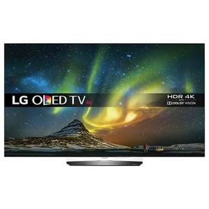 "LG OLED65B6V OLED HDR 4K Ultra HD Smart TV, 65"" with free Soundbar & Wireless Subwoofer & Sky Q for 1 year - £2999 @ John Lewis"