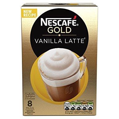 Nescafe Gold Vanilla Latte (8 Sachets) £1 @ Poundland