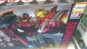 Transformers generations combiner wars computron collection pack £69.99 @ smyths instore and online