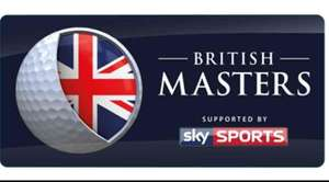 Free British Masters Golf 28th Sept 2017 10,000 tickets Available.