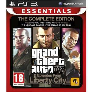 Grand Theft Auto IV: The Complete Edition (PS3) £6.95 Delivered @ TheGameCollection via eBay (Import)