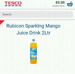 2 litre bottle of Rubicon Mango @ 50p at Tesco instore