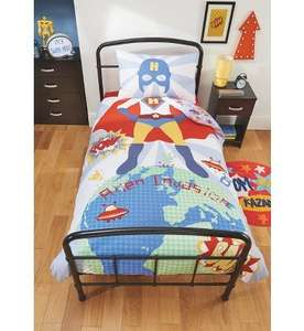 Superhero Alien Invasion Duvet Set - Single (was £12) Now £6.00 at Asda George