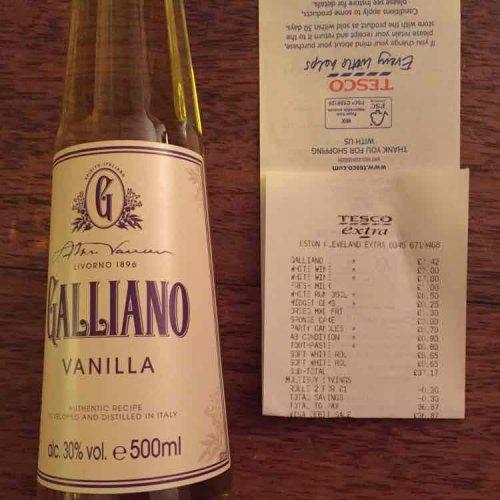 Galliano £7.42 instore  @ Tesco