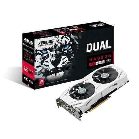 Asus Radeon DUAL RX 480 4GB £132.49 @ AWDIT