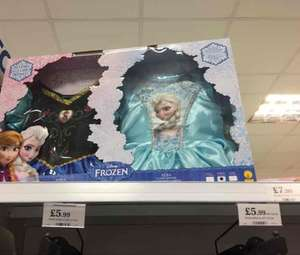 2 Disney frozen dresses £7.99 instore @ home bargains