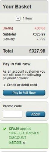 PS4 Pro + Horizon Zero Dawn £327.98 at very