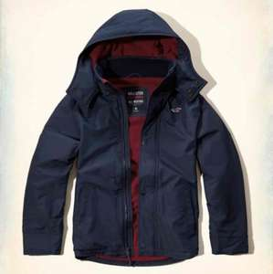 Hollister All-Weather Fleece Lined Jacket £15.99 + £5 delivery