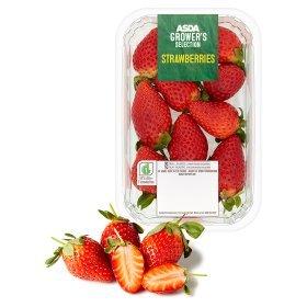 asda strawberries 300g only £1