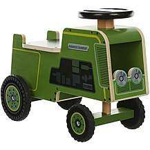Kiddimoto Wooden Ride Ons Tractor / Army Truck £15 Each C+C @ Halfords
