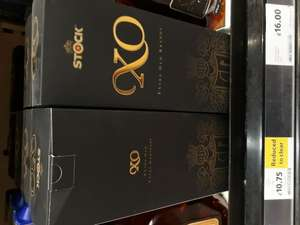 Stock XO Brandy 70cl - 40%  £10.75 instore @ Tesco Loughborough