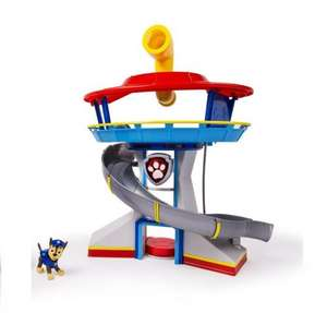 Paw Patrol Toy - The Lookout Playset - Basic Version - Includes Chase Police Dog Figure - £19.99 with discount applied (Prime or add £4.75) - Sold by Collectors Kingdom and Fulfilled by Amazon
