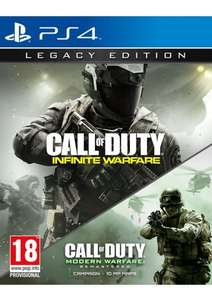 Call of Duty Infinite Warfare - Legacy Edition (incls Zombies in Space and Terminal bonus multiplayer map) PS4 £27.85 Delivered @ Simply Games