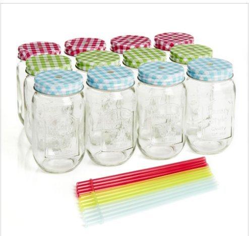 Wilko Mason Style Drinking Jars 12Pk Free C&C @ Wilko