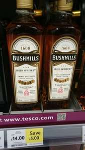 Bushmills Irish Whiskey 70cl/700ml - £14 instore @ TESCO