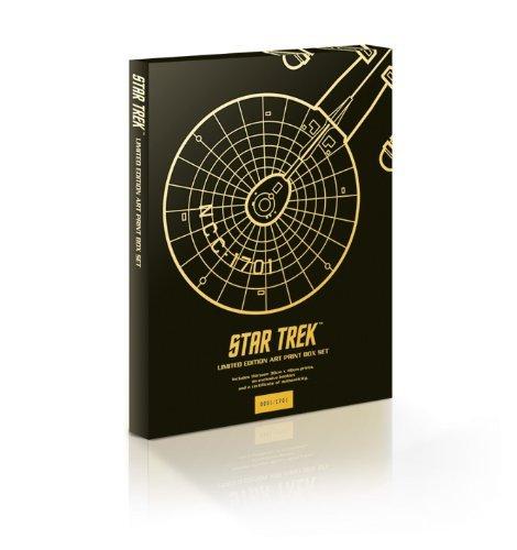 Star Trek Juan Ortiz Ltd Edition Art Print Box Set - £12.99 @ Home Bargains (RRP: £100)