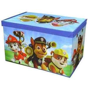 2 for £10 Paw Patrol storage boxes @ The Works free c@c