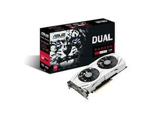 ASUS Radeon RX 480 Dual 8GB Graphics Card + free Doom game £184.98 @ CCL Online