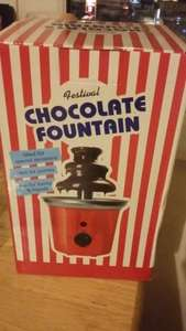 Chocolate fountain - £13.99 @ Home Bargains (instore)
