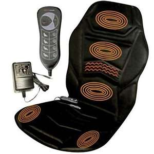 Amazon Electric Heated back Massager - for use in car with 12v car charger and home plug - cheap £23.75  Dispatched from and sold by Playtech Limited. @ Amazon