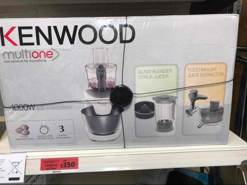 Kenwood Multione KHH326WH £150 instore @ Sainsbury's (Haringey)