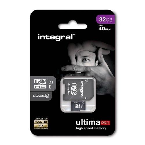 Intergral UltimaPRO High Speed Memory Micro SD HC 32GB £9 C+C @ Wilko