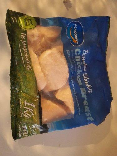 Halal chicken breast frozen 1kg £2.99 instore or 2kg for. £5.00 @ Fulton Foods