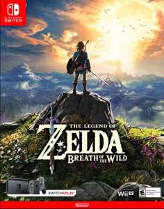 The Legend of Zelda - Breath of the Wild Switch - £55.99 - CDKeys