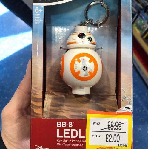 smyths toys (instore) BB8 LED torch/key ring/night light - £2