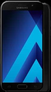 Samsung Galaxy A5 2017 £17.50/ month £97.99 upfront @ mobilephonesdirect (24 month contract) 4 Gb, 2000minutes, 5000 texts, £30.30 Topcashback - £487.69 total