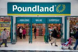 Poundland clearance closing down 50% off everything. Long Eaton Nottingham