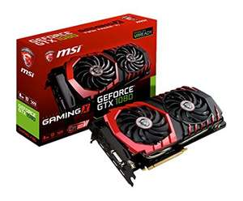 MSI GeForce GTX 1080 GAMING X 8G - £467 @ Amazon France