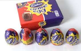 Cadburys Cream Eggs 5 Pack, for 99p at 99p Stores, or £1 at PoundLand