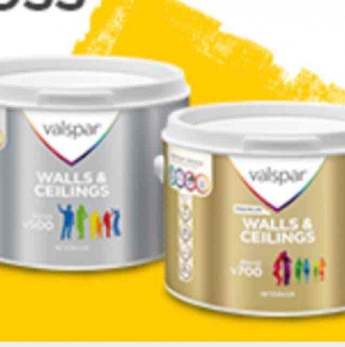 valspar mixed paint deals £23 @ B&Q