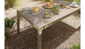 Grace Classic Dining Table - Taupe & Brown £89.50 @ Asda