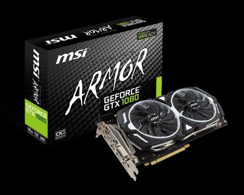 MSI GeForce GTX 1080 Armor 8GB £424.98 @ Amazon.it